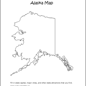 Alaska Word Search, Crossword Puzzle, and More