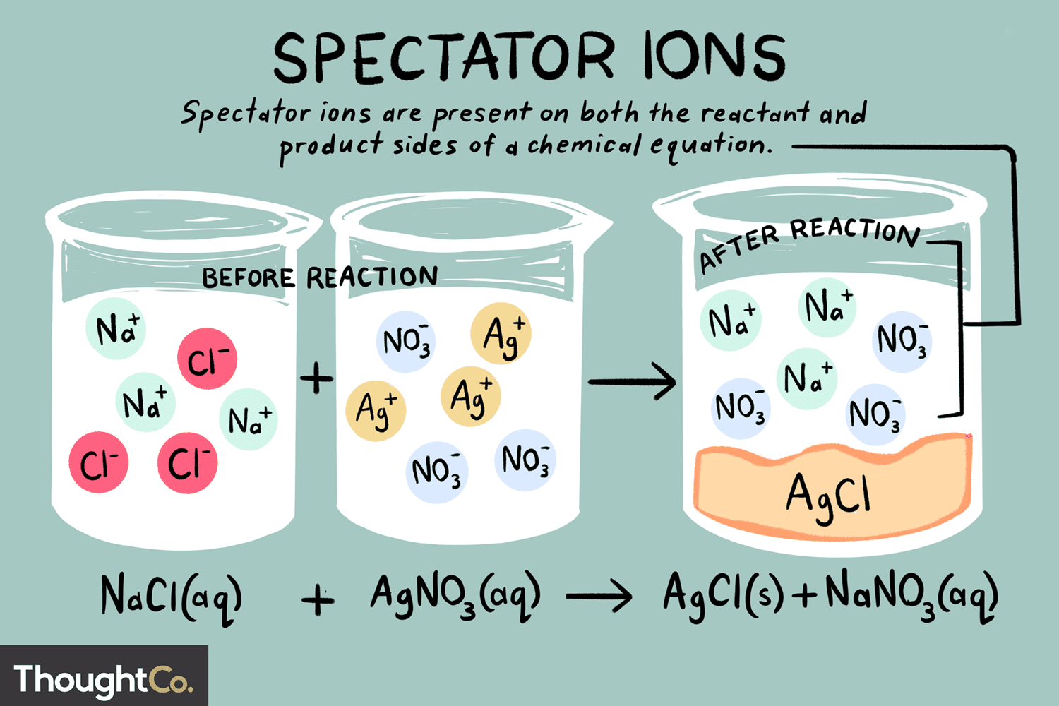Spectator Ion Definition And Examples