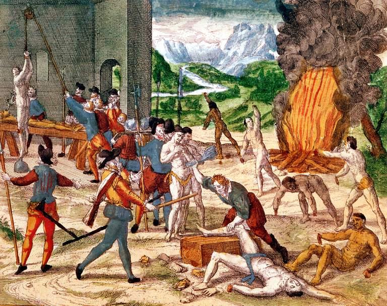 European Influence Americas