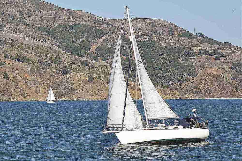 medium resolution of sailboat on san francisco bay san francisco california usa