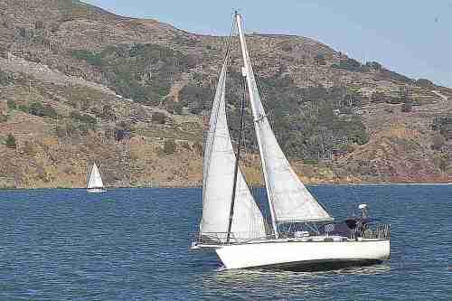 small resolution of sailboat on san francisco bay san francisco california usa