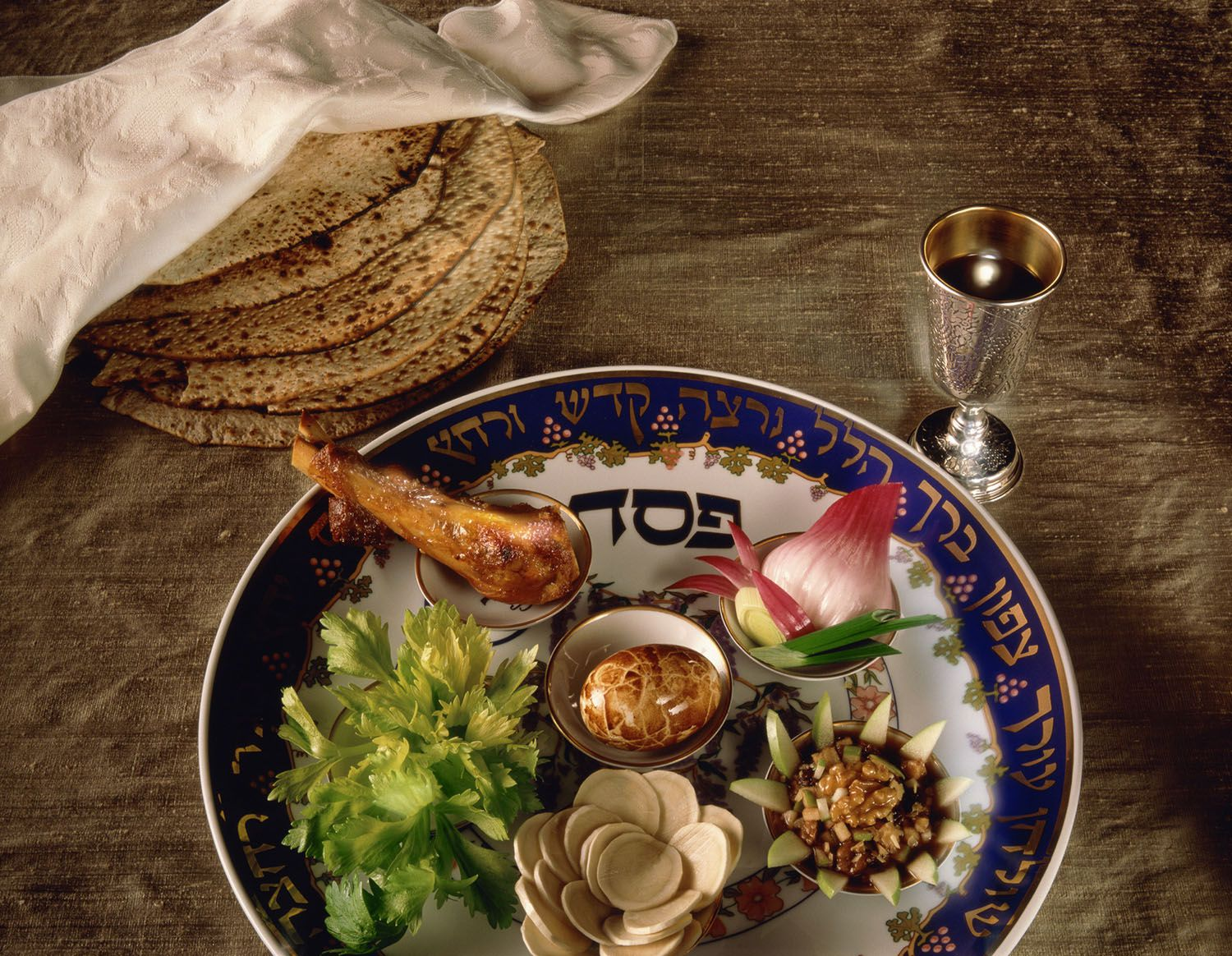 The Symbols Of The Seder Plate
