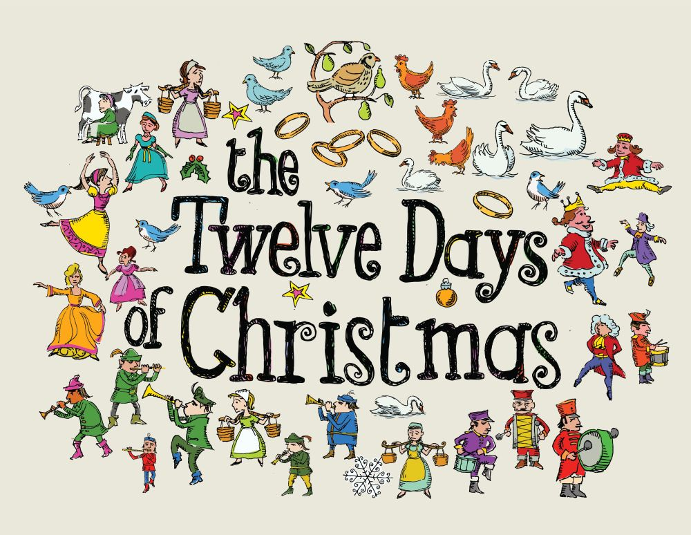 medium resolution of twelve day of christma clipart