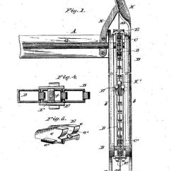 Folding Chair Nathaniel Alexander Wing Back Covers Black History Month African American Inventors Patent Drawing 1 Page