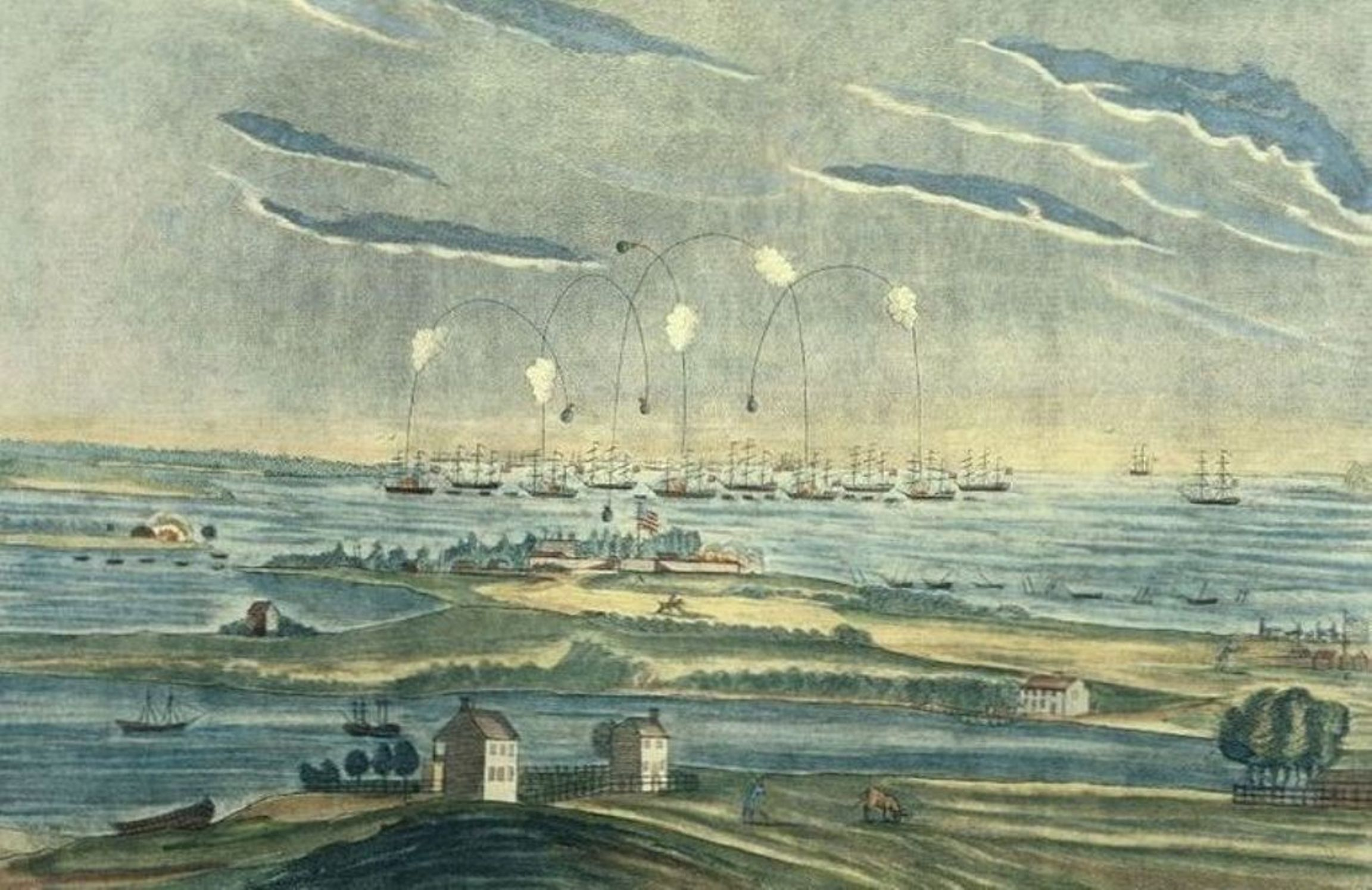 Battle Of Fort Mchenry In The War Of