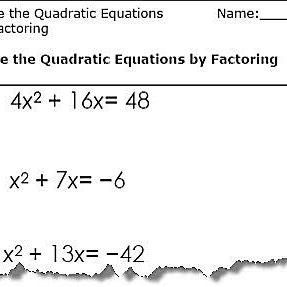 Solving Quadratic Equations Worksheet All Methods Pdf