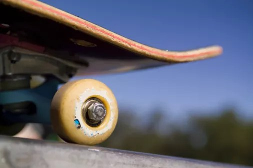 Skateboard Closeup