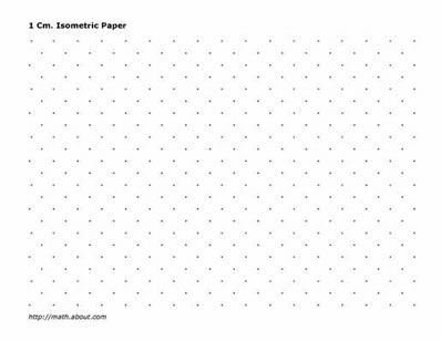 Printable Math Charts, Isometric & Graph Paper PDFs