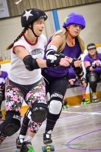 Big Hittin' in Little Britain – Roller Derby | Kawartha Lakes, Peterborough, Durham, Northumberland Photographer