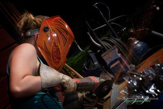 Art from scrap metal – People who love their work!