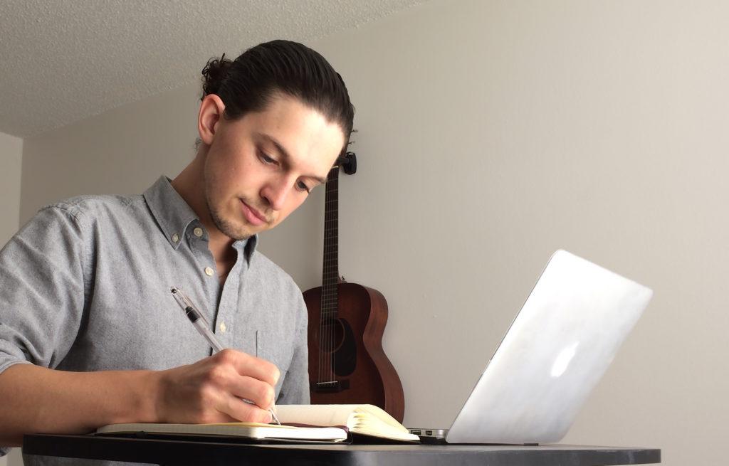 writing-at-desk