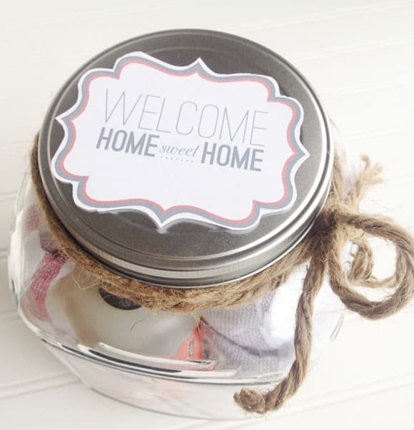 Make it  Housewarming Gift in a Jar  Thoughtfully Simple