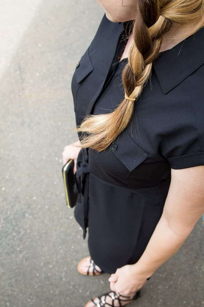 The Perfect Black Dress For The Office To After Work Drinks
