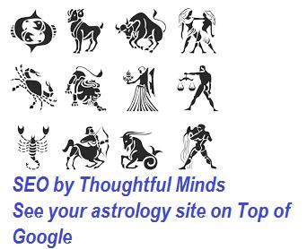 astrology website SEO