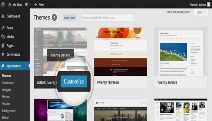 WordPress-theme-customize-ThoughtfulMinds