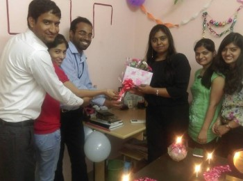 Congratulations to Prachi Mam on her Birthday