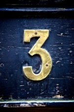 Number Three Sign
