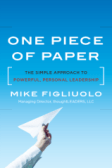 One Piece of Paper Cover - Small