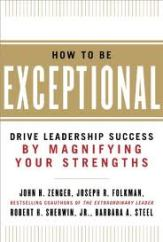 How To Be Exceptional Book Cover