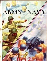 Army Navy Football Program from 1942