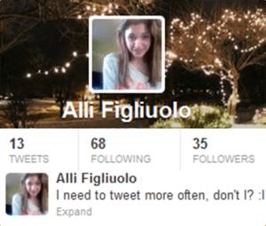 Alli Figliuolo on Twitter