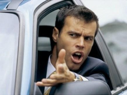 Man Road Rage