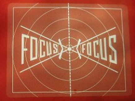 Focus on a Movie Screen