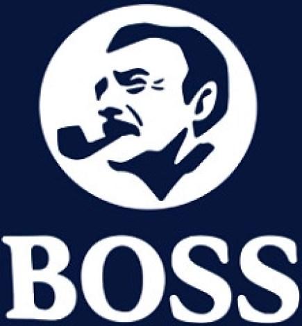 BOSS with Man Smoking Pipe