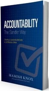 Accountability the Sandler Way