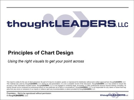 Principles of Chart Design Course Guide
