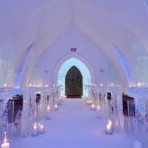 Ice Hotel De Glace Chapel