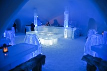 Ice Hotel Dining Area Thought Rot
