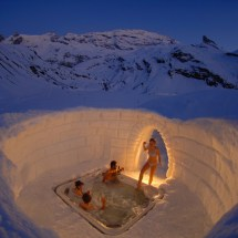 Igloo Hot Tub Switzerland
