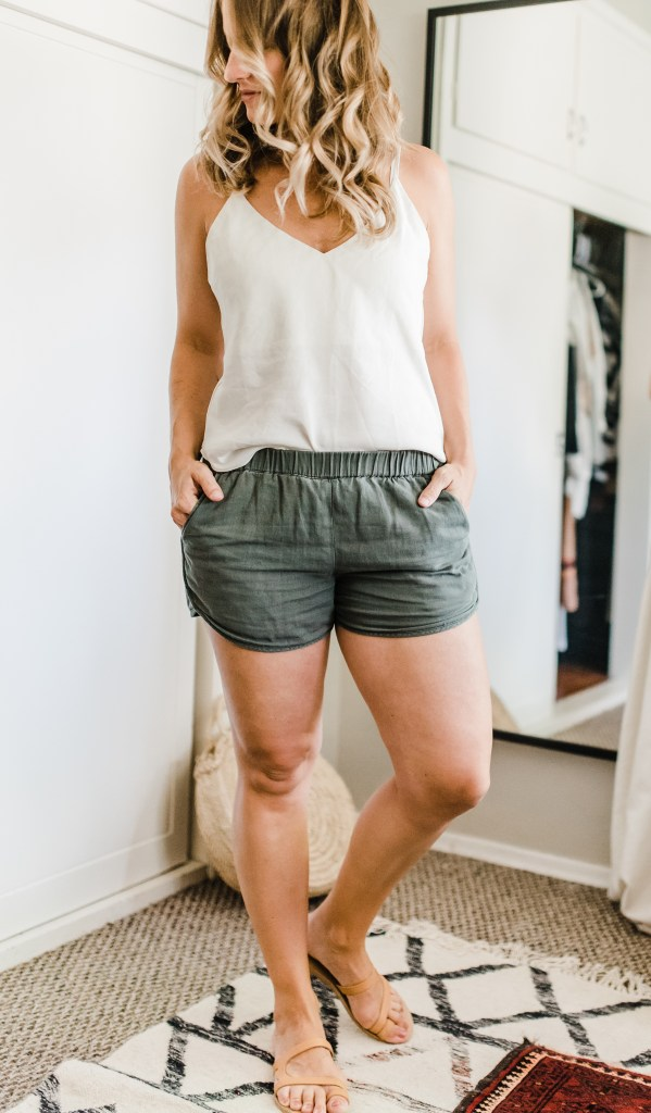 Summer 10x10 minimal wardrobe challenge | thoughts by brandi .com | mom style | slow fashion
