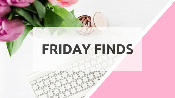 FRIDAY FINDS WITH BRANDI
