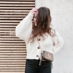 Winter Spring Outfit OOTD H&M Cardigan Marc Jacobs Snapshot Bag