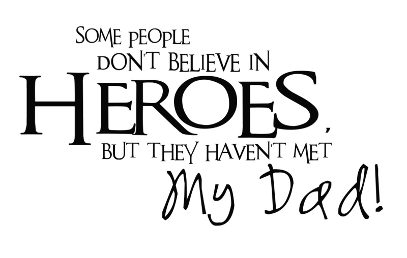 Some people don't believe in Heroes but they haven't met