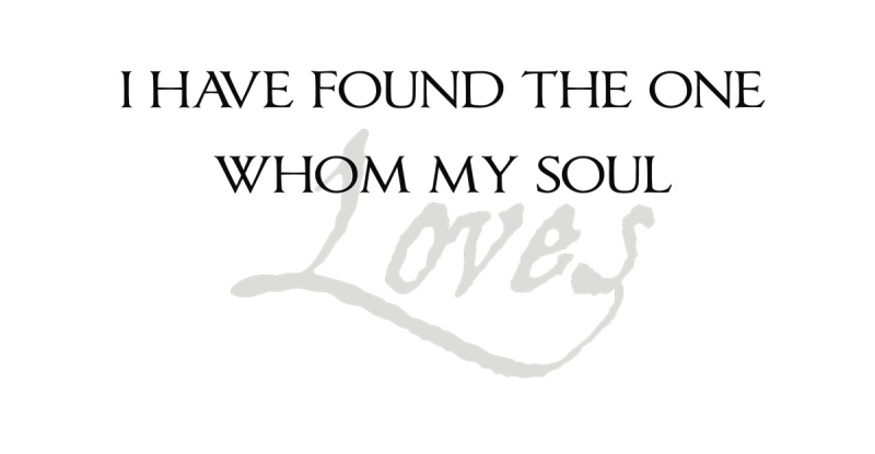 Download I have found the one whom my soul Loves