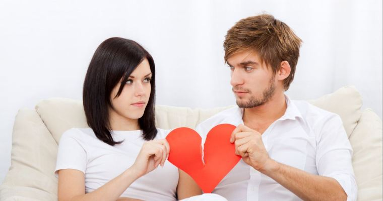 Staying in an unhappy relationship