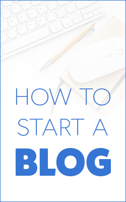 Tips on how to start a blog