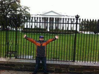 kanen rossi at the white house