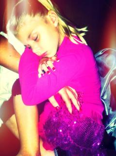 Sarah Centrella's twin daughter Mira