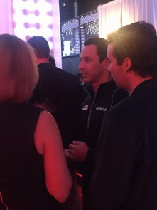 Race car driver Helio Castroneves