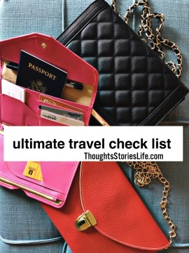 ultimate travel check list