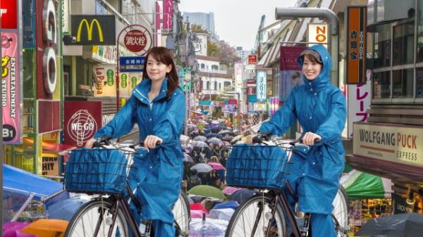 雨合羽 自転車  蒸れない