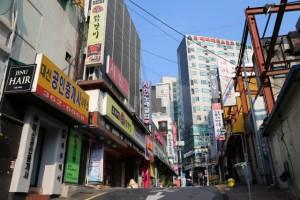 韓国 町並み