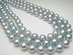 ネックレス 黒真珠