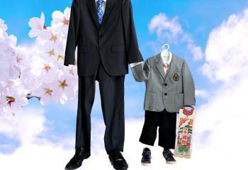 卒園式 パパ スーツ
