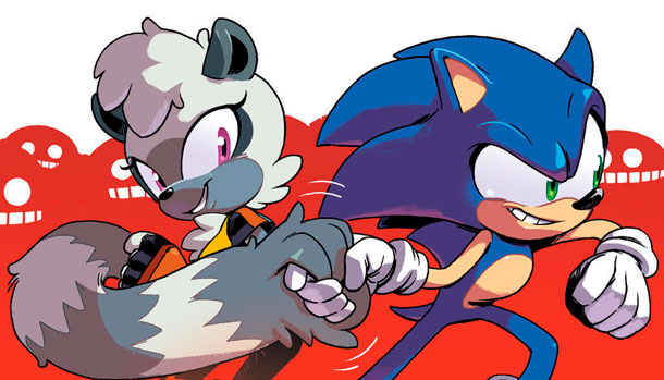 Sonic The Hedgehog Tangle