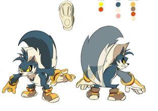 Rough Sonic Comic